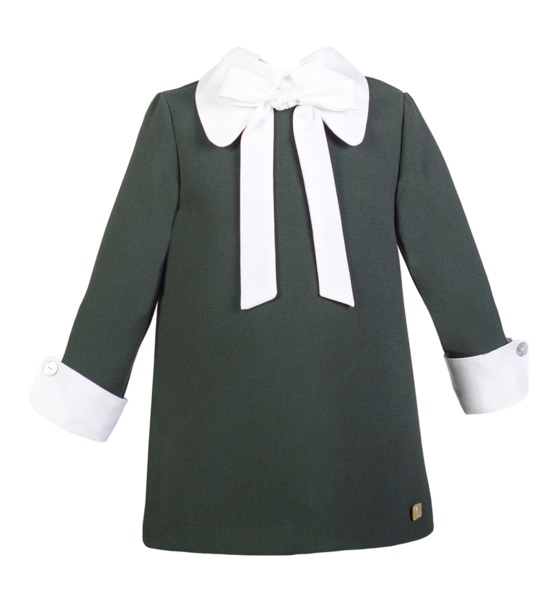eve children vestido verde