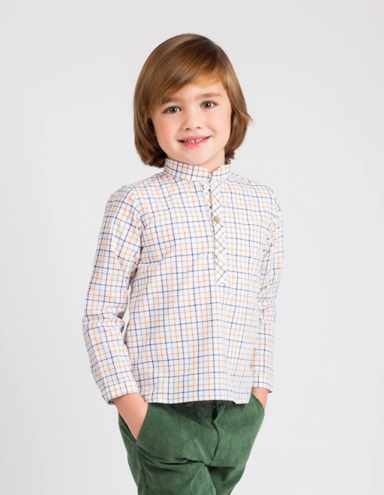 camisa camuflaje kids chocolate