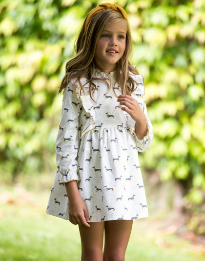 Vestido Teckel Kids Chocolate
