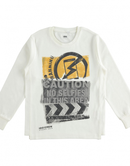 Camiseta Niño Ido caution
